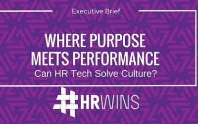 #hrwins Executive Brief: Where Purpose Meets Performance