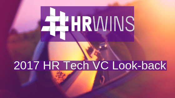 2017 HR Tech VC Look-back