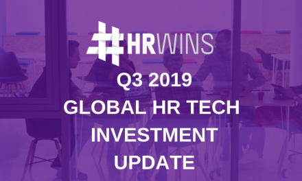 Q3 2019 Global HR Tech Investment Update