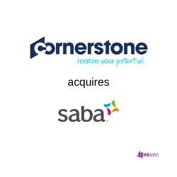 Cornerstone to Acquire Saba: Timing is Everything